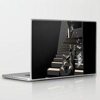 film Laptop & iPad Skins featuring Film noir by wonman kim