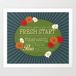 Fresh Start Art Print