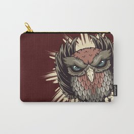 Burst owl Carry-All Pouch
