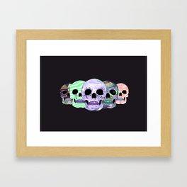 live love die Framed Art Print