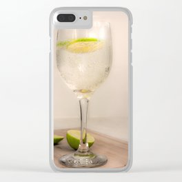 A Slice of lime Clear iPhone Case