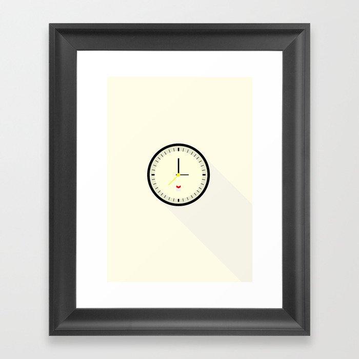 Braun watch Framed Art Print