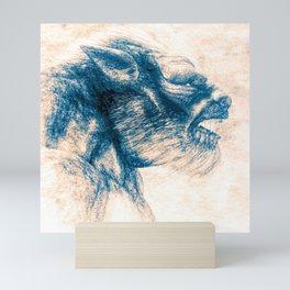 Werewolf Blues Mini Art Print