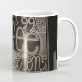 One Percent Genius Coffee Mug