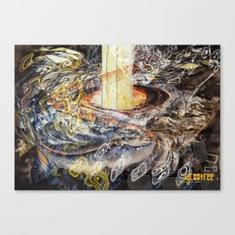 Escape Mixed Canvas Print