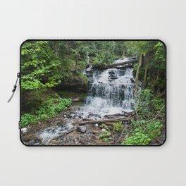 Wagner Falls, Munising, Michigan Laptop Sleeve