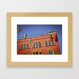 Venice Hostel Framed Art Print