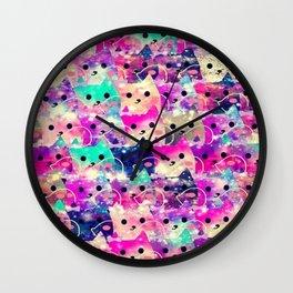 cats-72 Wall Clock