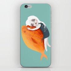 The Fish Girl iPhone & iPod Skin