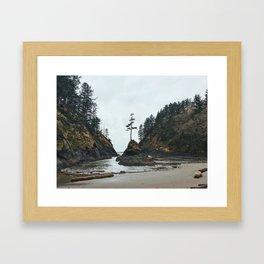 Dead Man's Cove Framed Art Print