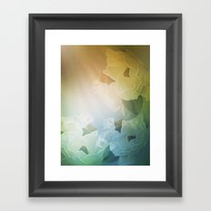 Dogwood Blooms Framed Art Print