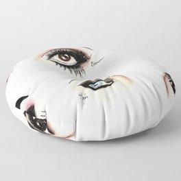 Eye see Drag Floor Pillow