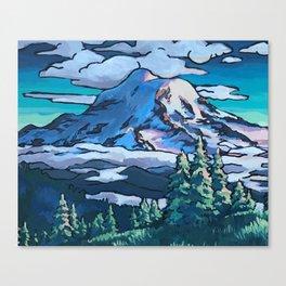 Rainier Summer Canvas Print