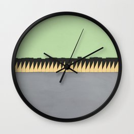 Geometric pattern Wall Clock