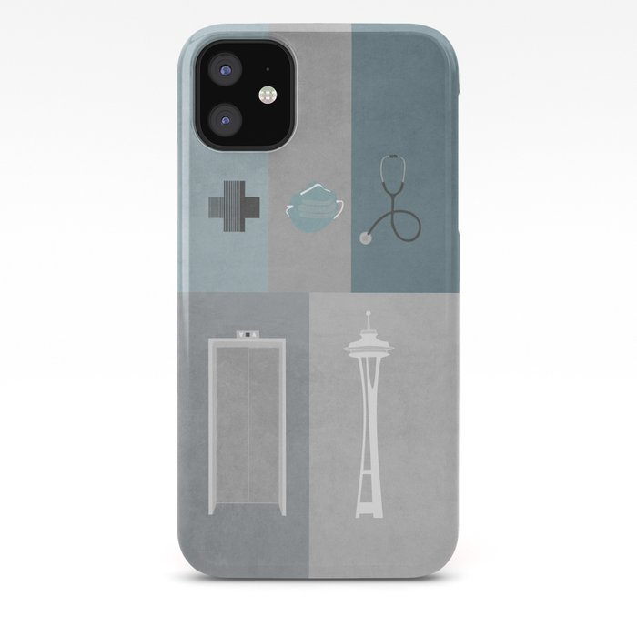 Greys Anatomy Starter Kit Iphone Case By Emeraldbird