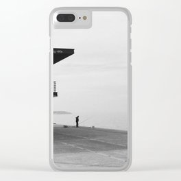 Fisherman Clear iPhone Case