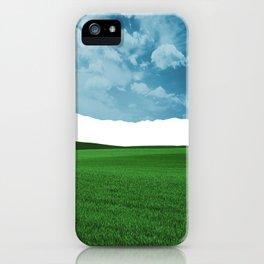 Lost Horizon Vertical2 iPhone Case