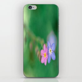 One Girl-One Boy, Forget-me-not iPhone Skin