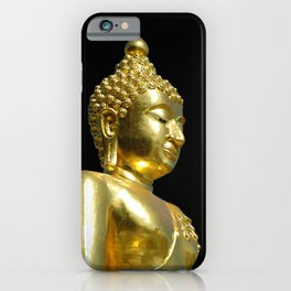 Gold Buddha iPhone Case