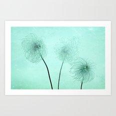 three seeds Art Print