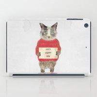 grumpy iPad Cases featuring who's grumpy by bri.buckley