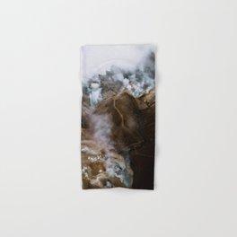 Kerlingarfjöll mountain range in Iceland - Aerial Landscape Photography Hand & Bath Towel