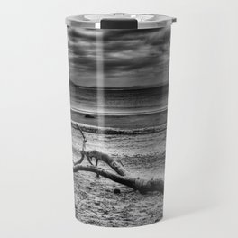 Driftwood 4 mono Travel Mug