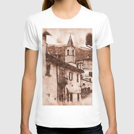 Scanno, an ancient italian village T-shirt