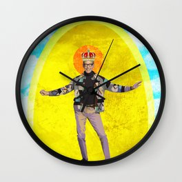 Holy Jeff Goldblum Wall Clock