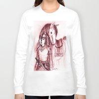 narnia Long Sleeve T-shirts featuring Tarkheena by Belay