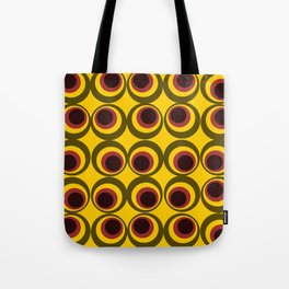Psychedelic yellow Tote Bag