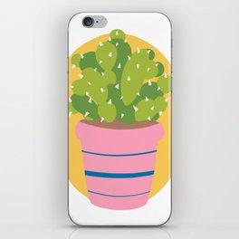 Cacti dude iPhone Skin