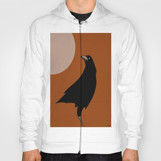 The crow of the setting sun Hoody