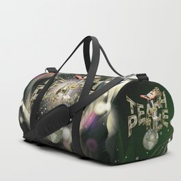 Teach Peace on Earth Duffle Bag