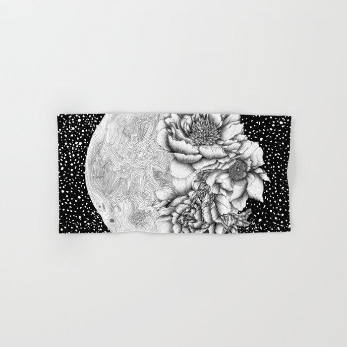 Moon Abloom Hand & Bath Towel