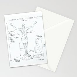 Victory Drawing, Transitions through Triathlon Stationery Cards