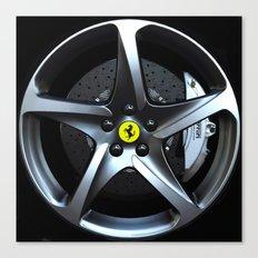 Ferrari FF Wheel Canvas Print