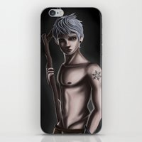 jack frost iPhone & iPod Skins featuring Jack Frost by Esai Alfredo