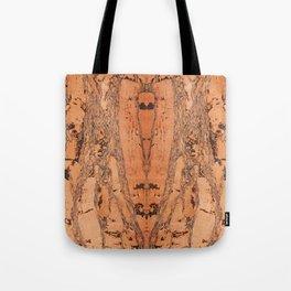 Brown cork material texture Tote Bag
