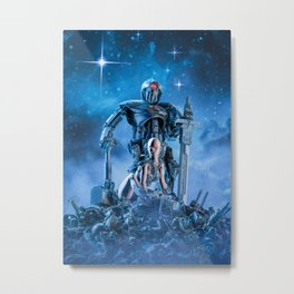 The Quantum Warrior Metal Print