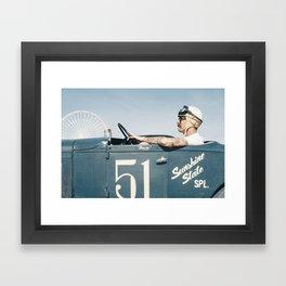 The Race of Gentlemen 3 Framed Art Print
