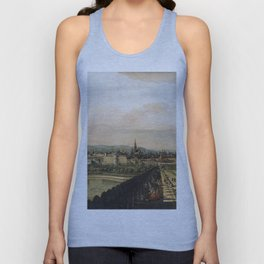 Bernardo Bellotto - Vienna Viewed From The Belvedere Palace1759 Unisex Tank Top