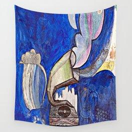 Rain Phonograph Wall Tapestry