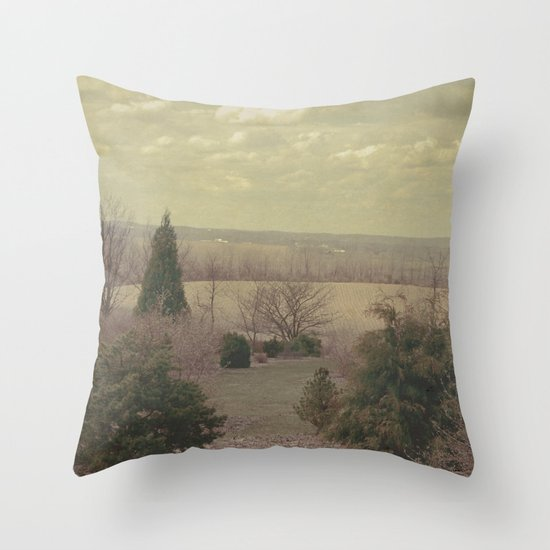 The Seconds Slipped Away Throw Pillow