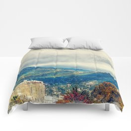 Trapani art 15 Sicily Comforters