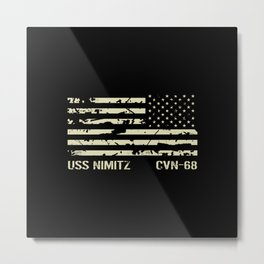 USS Nimitz Metal Print