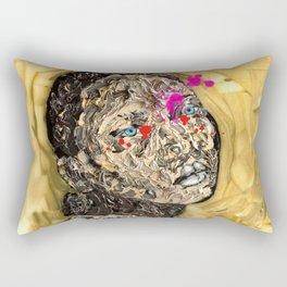 Blood Gold Girl Rectangular Pillow