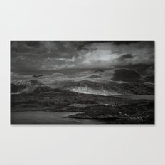 A lonley place to die Canvas Print