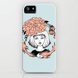 Ink Girl Design - 14.05.17 01 iPhone Case