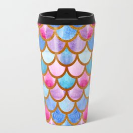 Mermaid scales Travel Mug